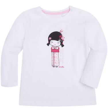 Lekko rozszerzana bluzka dla dziecka 6-36 m N72G020_1