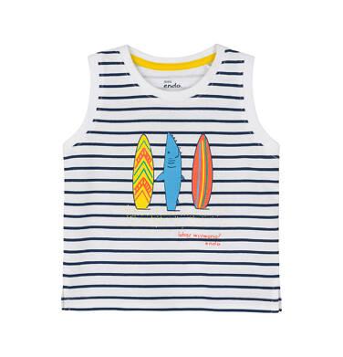 Endo - Koszulka na ramiączkach 0-3 lata N91G077_1