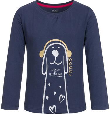 Endo - T-shirt z długim rękawem dla dziewczynki 3-8 lat D92G058_1