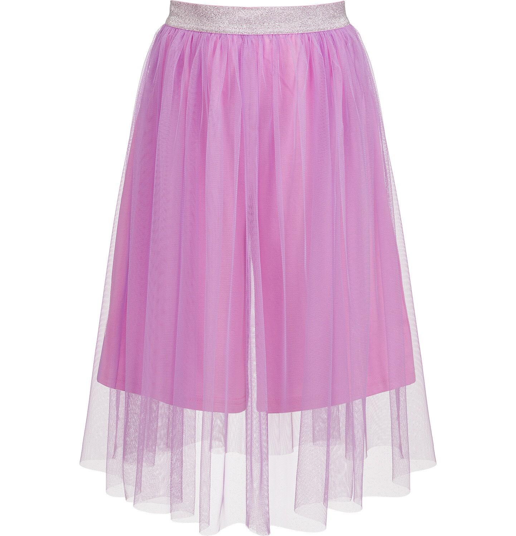 Endo - Spódnico-spodnie z tiulem, ze srebrną gumką w pasie, różowe, 2-8 lat D03J013_1