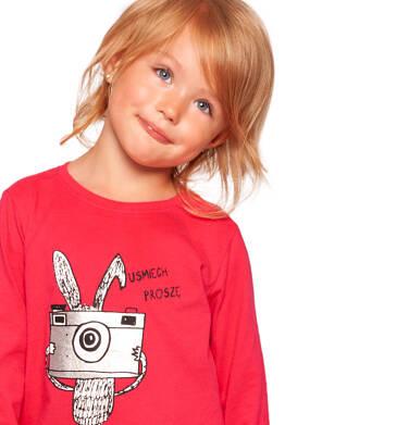 Endo - T-shirt z długim rękawem dla dziewczynki 3-8 lat D92G059_1