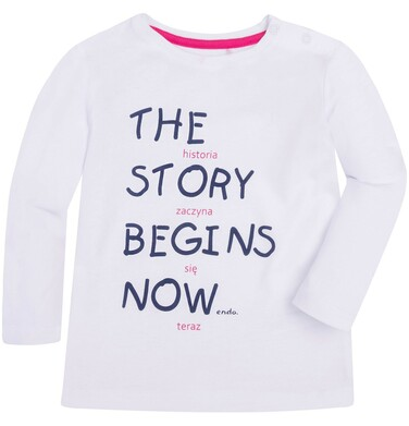 Endo - Lekko rozszerzana bluzka dla dziecka 2-4 lata N72G055_1