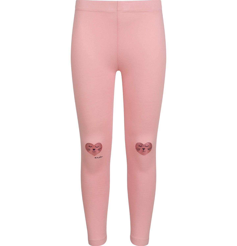 Endo - Tregginsy dla dziewczynki, różowe, 2-8 lat D03K075_1
