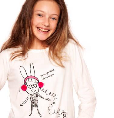 Endo - T-shirt z długim rękawem dla dziewczynki 9-13 lat D92G560_1