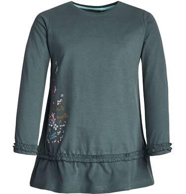 """Endo - """"Niezłe ziółko"""" Tunika z długim rękawem dla dziewczynki 3-8 lat D82G030_1"""