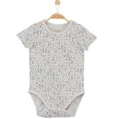 Body we wzorzysty deseń dla niemowlaka N61M014_1