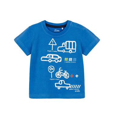 Endo - T-shirt z krótkim rękawem dla dziecka 0-3 lata N91G065_1