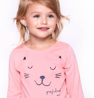 T-shirt z długim rękawem dla dziewczynki 3-8 lat D92G026_1
