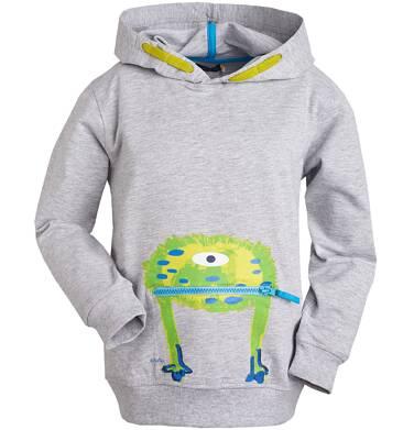 Endo - Bluza z kapturem dla chłopca 9- 13 lat C81C511_1