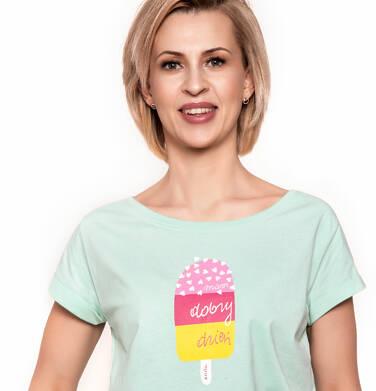 Endo - T-shirt damski z krótkim rękawem Y91G001_1