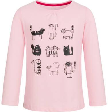 Endo - Bluzka z długim rękawem dla dziewczynki 3-8 lat D92G062_2