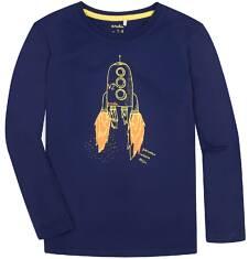 T-shirt z długim rękawem dla chłopca 9-13 lat C72G570_1