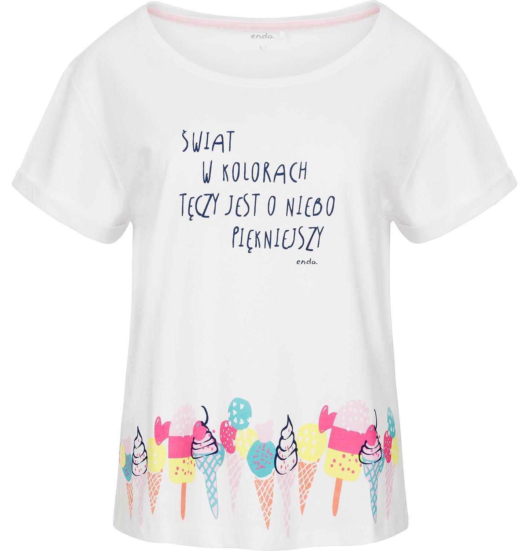 Endo - T-shirt damski z krótkim rękawem Y91G002_1