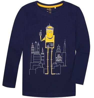 Endo - T-shirt z długim rękawem dla chłopca 3-8 lat C72G051_1
