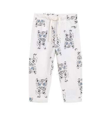 Endo - Spodnie dla dziecka do 2 lat, w tygrysy, porcelanowe N03K034_1