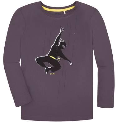 Endo - T-shirt z długim rękawem dla chłopca 9-13 lat C72G584_1