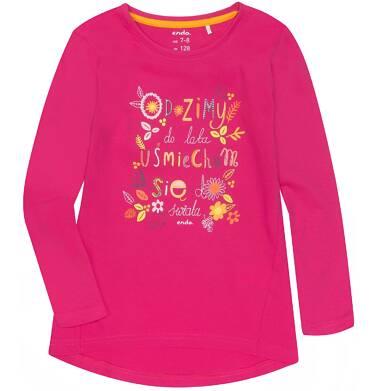 Endo - Bluzka z długim rękawem  dla dziewczynki 9-13 lat D72G608_2