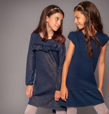 Endo - Sukienka z długim rękawem dla dziewczynki 3-8 lat D82H009_1