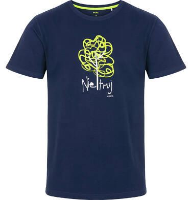 Endo - T-shirt męski z krótkim rękawem Q91G019_1