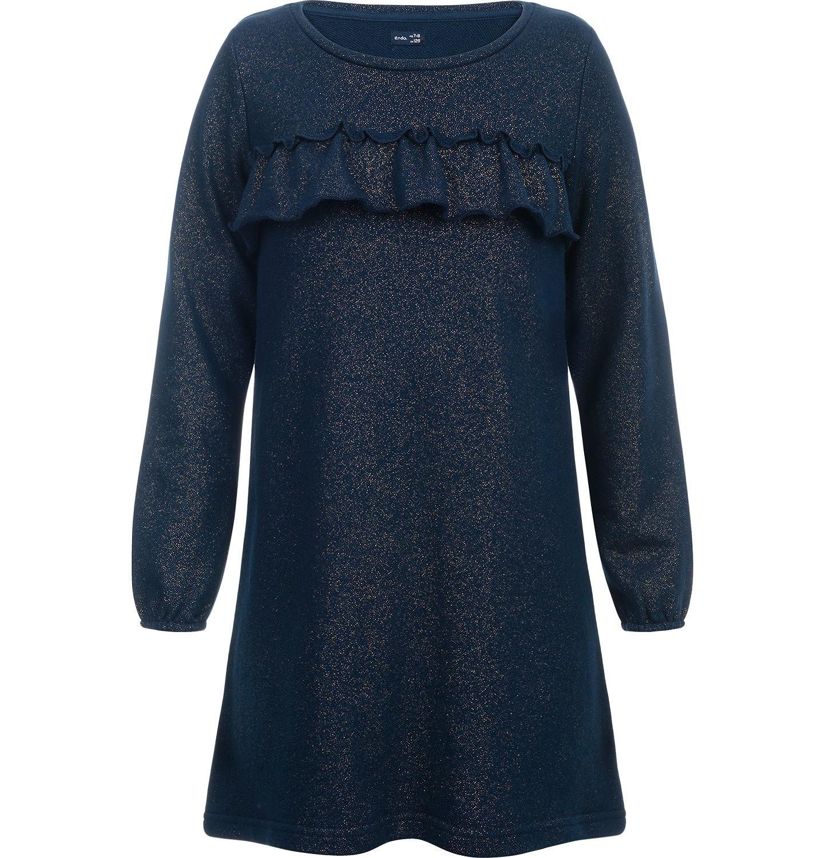Endo - Sukienka z długim rękawem dla dziewczynki 9-13 lat D82H509_1