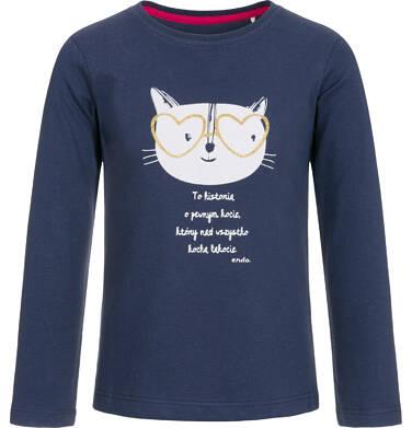 Endo - T-shirt z długim rękawem dla dziewczynki 9-13 lat D92G567_1 127
