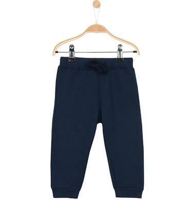 Endo - Grube spodnie dresowe ze ściagaczami dla niemowlaka N62K022_1