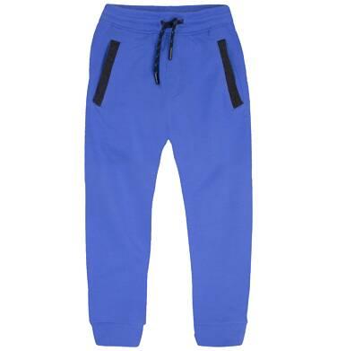 Ciepłe spodnie dresowe dla chłopca 9-13 lat C72K519_1