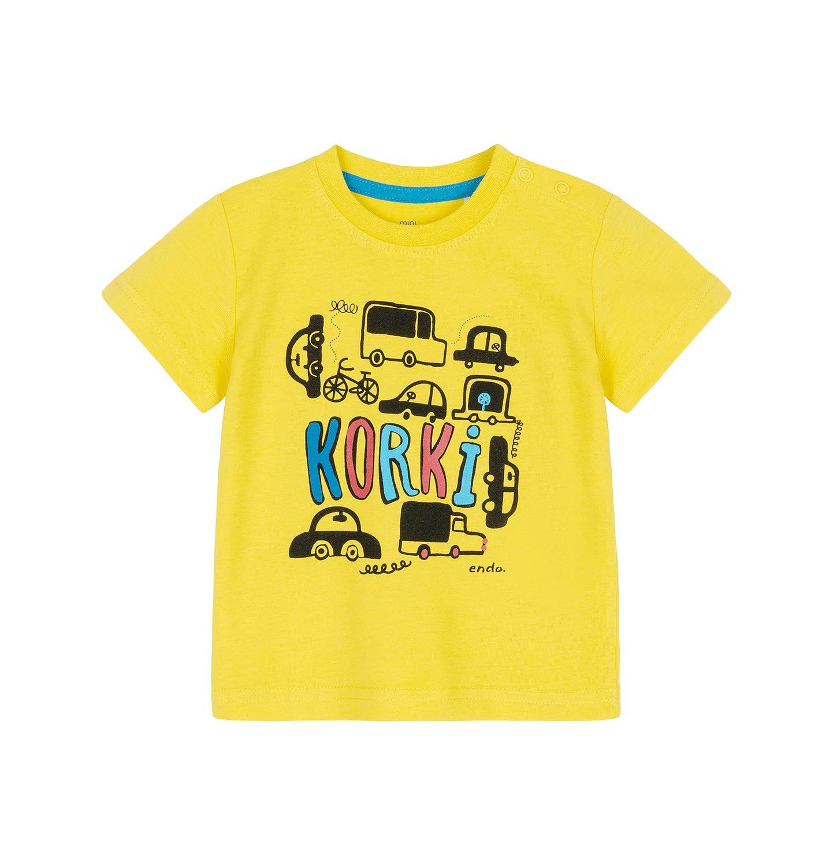 Endo - T-shirt z krótkim rękawem dla dziecka 0-3 lata N91G066_1