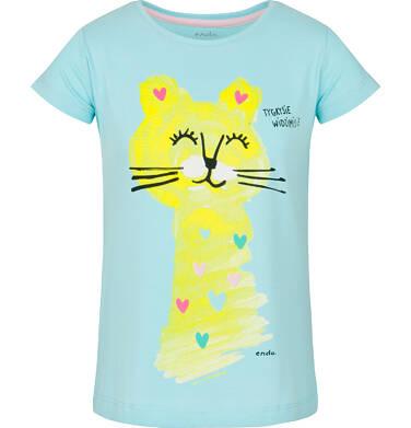 Endo - T-shirt z krótkim rękawem dla dziewczynki 3-8 lat D91G099_1