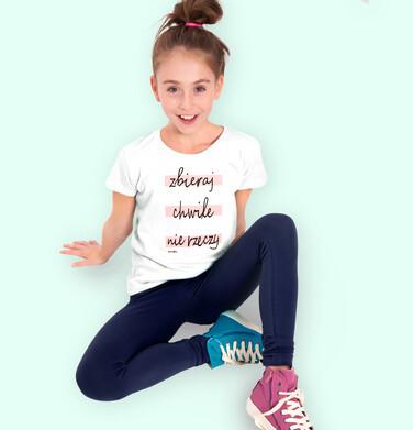 Endo - Legginsy dla dziewczynki, granatowe, 9-13 lat D05K045_1 6