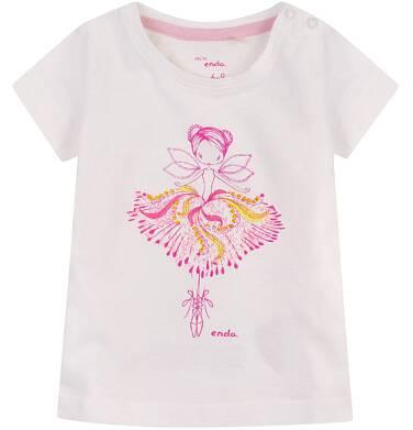 Endo - Bluzka z krótkim rękawem  dla dziecka 0-3 lat N71G033_1