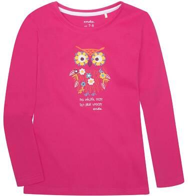 Endo - Bluzka z długim rękawem  dla dziewczynki 3-8 lat D72G156_1