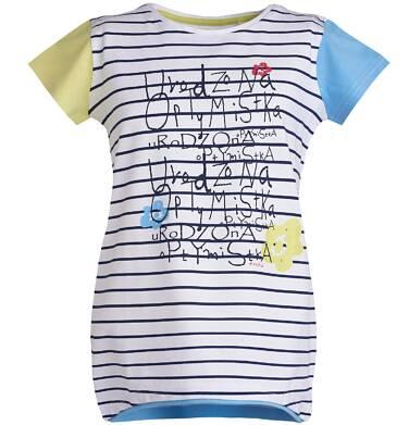 Endo - Tunika z krótkim rękawem dla dziewczynki 3-8 lat D81G062_1
