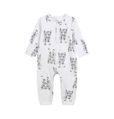 Endo - Pajac dla dziecka do 2 lat, w tygrysy, porcelanowy N03N009_1 27