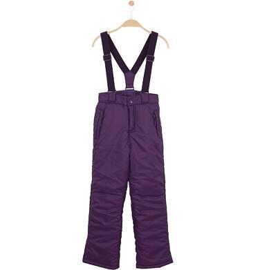 Endo - Spodnie zimowe oceplane dla dziewczynki 9-12 lat D62K536_1