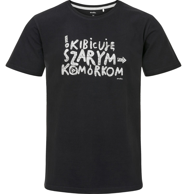 Endo - T-shirt męski z krótkim rękawem Q91G024_1