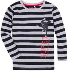 T-shirt z długim rękawem dla chłopca 9-13 lat C72G598_1