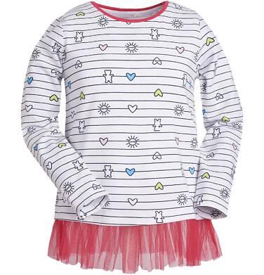 Endo - Tunika z tiulową falbanką dla dziewczynki 3-8 lat D81G066_1