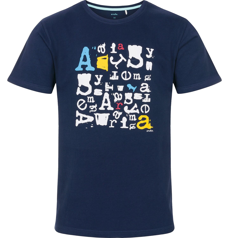 Endo - T-shirt męski z krótkim rękawem Q91G025_1