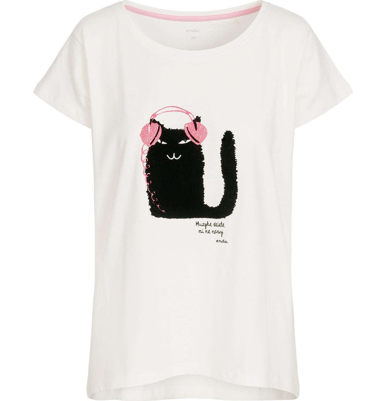 Endo - T-shirt damski z krótkim rękawem Y92G006_1