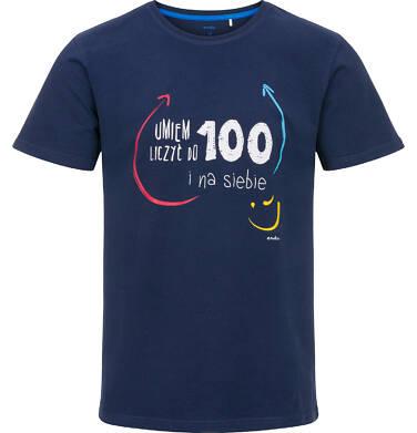 Endo - T-shirt męski z krótkim rękawem Q91G028_1