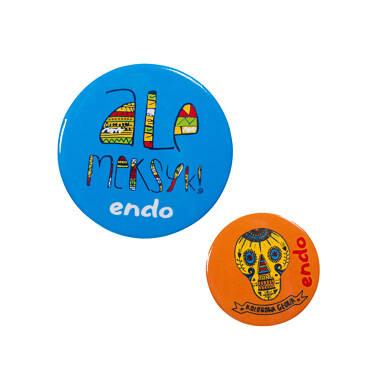 Endo - Przypinki - zestaw SDV51Z04_1