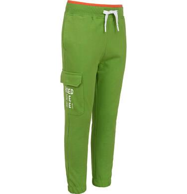 Endo - Spodnie dresowe dla chłopca, z kieszenią z boku, zielone, 2-8 lat C05K025_2 18
