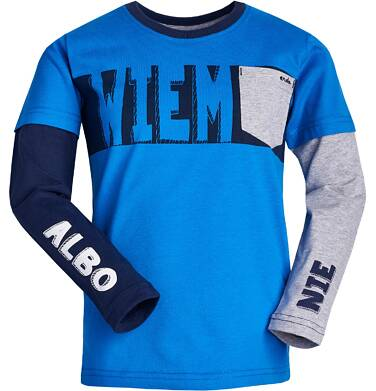 Endo - T-shirt z długim rękawem dla chłopca 3-8 lat C82G017_2