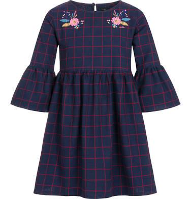 Endo - Sukienka z długim rękawem dla dziewczynki 3-8 lat D92H064_1