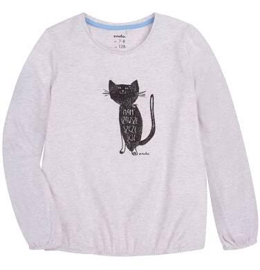 Endo - Bufiasta bluzka dla dziewczynki 9-13 lat D72G510_1
