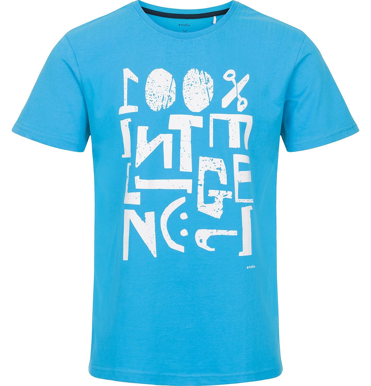 Endo - T-shirt męski z krótkim rękawem Q91G033_1