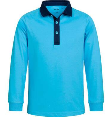 Endo - T-shirt polo z długim rękawem dla chłopca, fair play, niebieski, 2-8 lat C03G041_1 7