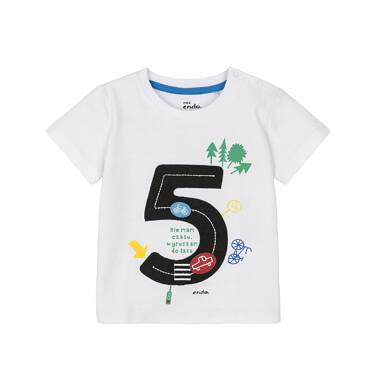 Endo - T-shirt z krótkim rękawem dla dziecka 0-3 lata N91G067_2