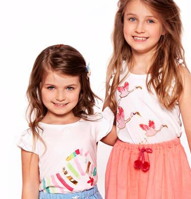 Endo - T-shirt z krótkim rękawem dla dziewczynki 3-8 lat D91G100_1